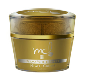 รูปภาพของ MCL Derma White Expert Night Cream 15g. หรือ MCL Absolute White Cream (ใหญ่)