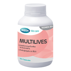 Mega We Care Multilives We Complex 1400mg. 30 เม็ด