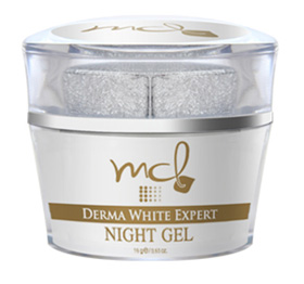 รูปภาพของ MCL Derma White Expert Night Gel 15g.หรือ MCL Absolute White gel (ใหญ่)