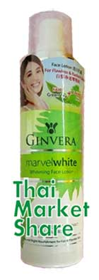 รูปภาพของ Ginvera Marvel White Whitening Face Lotion 50ml