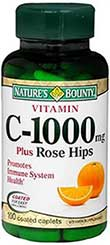 รูปภาพของ Nature s Bounty Vitamin C 1000 mg. Plus Rose Hips 100เม็ด