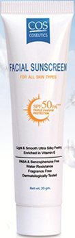 รูปภาพของ COS Facial Sunscreen For All Skin Types SPF50 PA+++ 20g.
