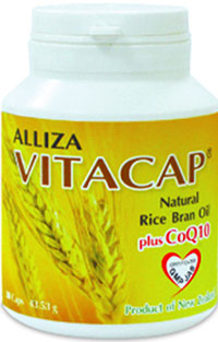 รูปภาพของ Alliza Vitacap Natural Rice Bran Oil Plus CoQ10 30cap