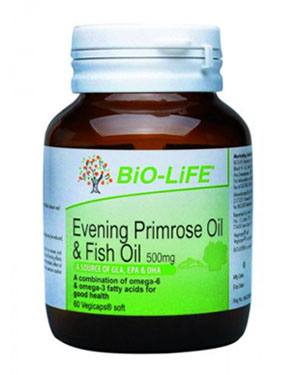 รูปภาพของ Bio-Life Evening Primrose Oil & Fish Oil 500mg. 60cap
