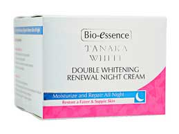 รูปภาพของ Bio-Essence Tanaka White Double Whitening Renewal Night Cream 50g