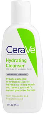 Cerave Hydrating Cleanser for Normal to Dry Skin 88ml.