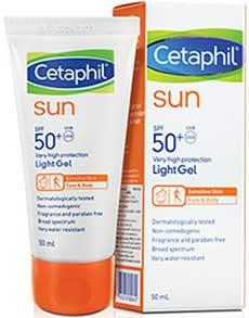 รูปภาพของ Cetaphil SUN SPF 50+ PA++++ Light Gel Face & Body 50ml.