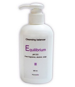 Equilibrium Cleansing Balancer pH5.5 ขนาด200ml.