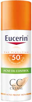 รูปภาพของ Eucerin Sun CC Cream Acne Oil Control 50ml.