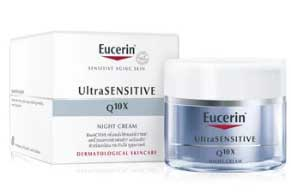 รูปภาพของ Eucerin Ultrasensitive Q10X Night 50ml