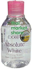 Exxe Absolute White Cleansing Water Make Up Remover 150ml. (ซื้อ1ฟรี1)