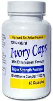Ivory Caps 1500mg. Glutathione Complex 60cap
