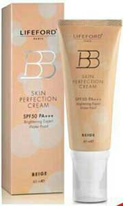 รูปภาพของ LIFEFORD BB SKIN PERFECTION CREAM SPF50 PA++ BRIGHTENING EXPERT WATER PROOF (BEIGE) 40 ml.