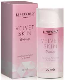 รูปภาพของ LIFEFORD VALVET SKIN PRIMER (OIL CONTROL) 30 ml.