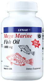 รูปภาพของ Lynae Mega Marine Fish Oil 1000 mg. 60cap