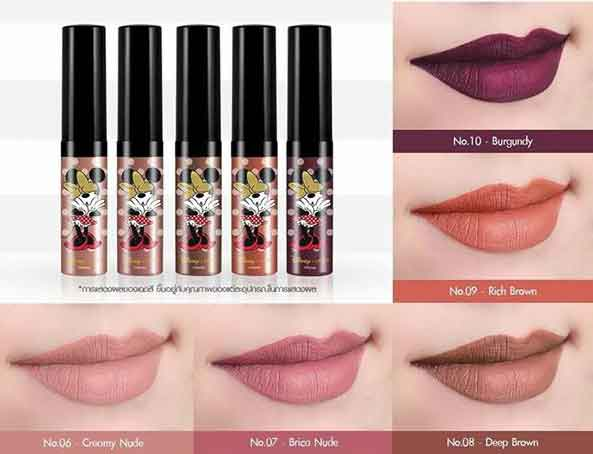 Minnie Wonderful Soft Matte Liquid Lip 5g.