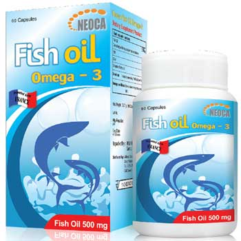 NEOCA Fish Oil  Omega 3 60cap