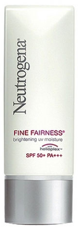 Neutrogena Fine Fairness Brightening UV Moisture SPF 50+ PA+++