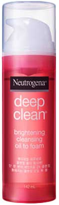 รูปภาพของ Neutrogena Deep Clean Brightening Cleaning Oil To Foam 142ml สีแดง
