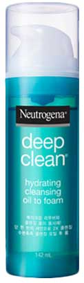 รูปภาพของ Neutrogena Deep Clean Hydrating Cleansing Oil To Foam 142ml สีฟ้า