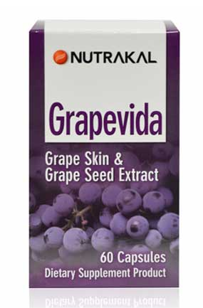 รูปภาพของ  NUTRAKAL Grapevida Wine Extract 60cap