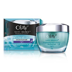 Olay White Radiance Advanced Fairness Night Restoring Cream 50g.