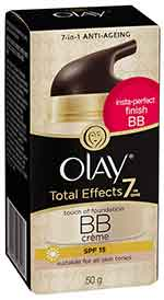 Olay Total Effects 7 in one Touch of Foundation BB Cream SPF15 สูตรบีบี ครีม 50g.