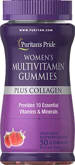 รูปภาพของ Puritan s Pride women s Multivitamin Gummies Plus Collagen 50กัมมี่