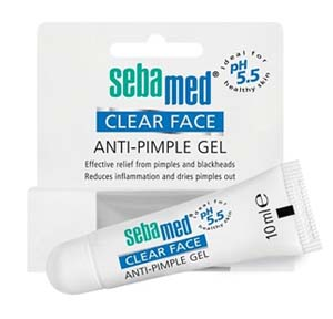 Sebamed Clear Face Anti-Pimple Gel 10ml.เจลแต้มสิว