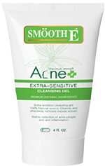รูปภาพของ Smooth E Acne Extra Sensitive Cleansing Gel 4 OZ.