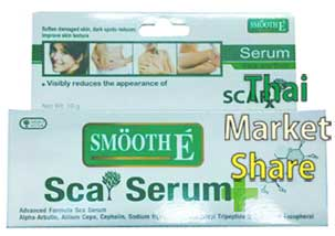 Smooth E Sca Serum Face and Body 10g.ฟื้นฟูผิวกาย