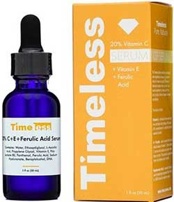 Timeless Vitamin C + E Ferulic Acid Serum 30ml. (สีส้ม)
