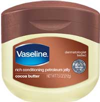 Vaseline Lip Therapy 7g. Cocoa Butter ลิปบาล์มสูตรโกโก้