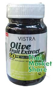 รูปภาพของ Vistra Oilve Fruit Extract 60mg. Plus Vitamin E 30cap