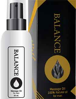 รูปภาพของ Balance O Massage Oil For Men 60ml.