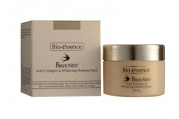 Bio-Essence Bird s Nest Nutri-Collagen Whitening Sleeping Mask 60g  มาร์ค (ใหม่)