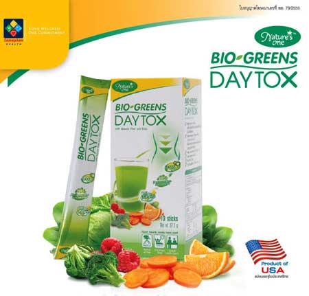 Bio Greens DayTox Nature One 8.75g. (10ซอง)