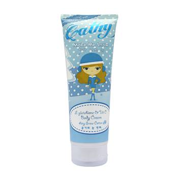 รูปภาพของ Cathy Make Me Snow L-Glutathione & Vit C Body Cream Airy Snow Cotton  230g.