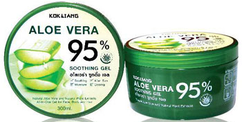 Kok Liang Aloe Vera Gel Soothing 95% 300ml.