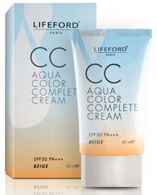 รูปภาพของ LIFEFORD CC AQUA COLOR COMPLETE CREAM SPF 50 PA++ BEIGE 40ML.