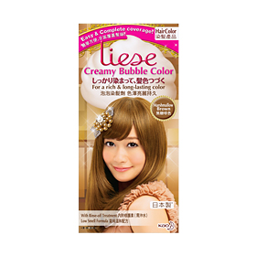 รูป Liese Creamy Bubble Color Marshmallow Brown