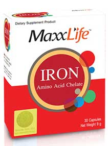รูปภาพของ MaxxLife Iron Amino Acid Chelate 30cap