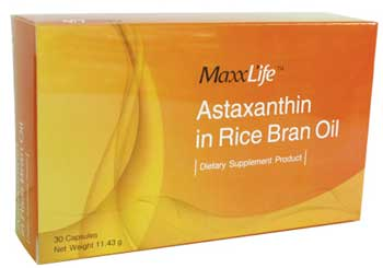 Maxxlife Astaxanthin in Rice Bran Oil 30 cap