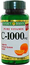 Nature s Bounty Vitamin C 1000mg.100เม็ด