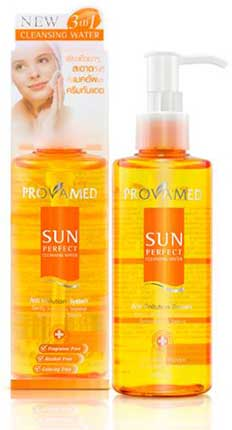 รูปภาพของ Provamed Sun Perfect Cleansing Water 200ml.