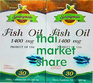 รูปภาพของ Springmate Fish Oil 1400mg 30cap+30cap