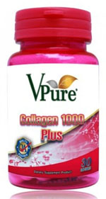 Vpure Collagen 1000 Plus 30เม็ด