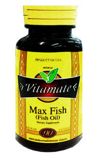 รูปภาพของ Vitamate Max Fish Oil 1000mg. 90cap