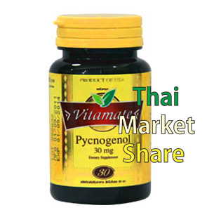 รูปภาพของ Vitamate Pycnogenol 30mg. 30softgel